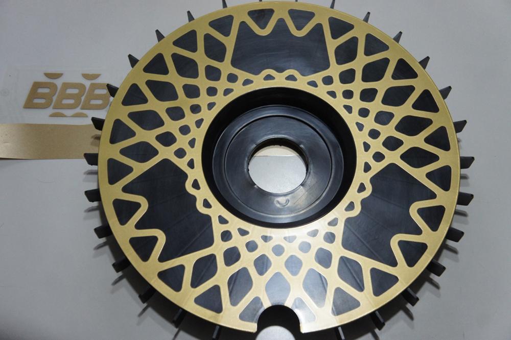 Bbs Turbofan Turbo Fan Wheel Fan Bremsenlufter Turbolufter